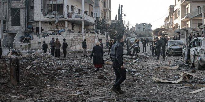 Rusya'nın İdlib'e saldırılarında 4 sivil öldü