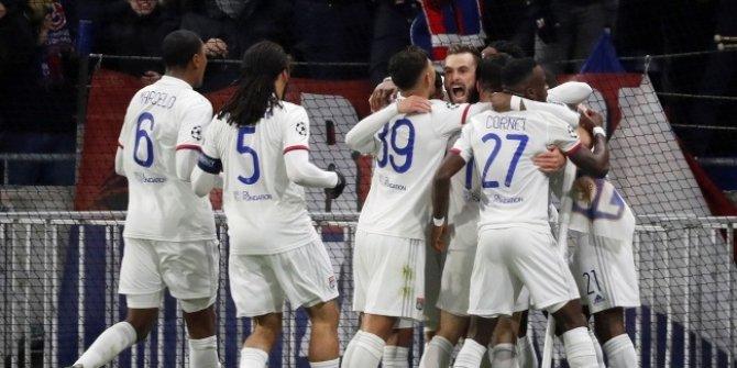 Olympique Lyon avantajı kaptı