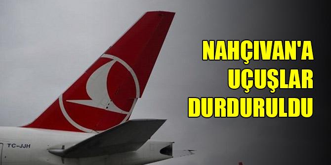 THY Nahçıvan'a uçuşları geçici süreyle durdurdu