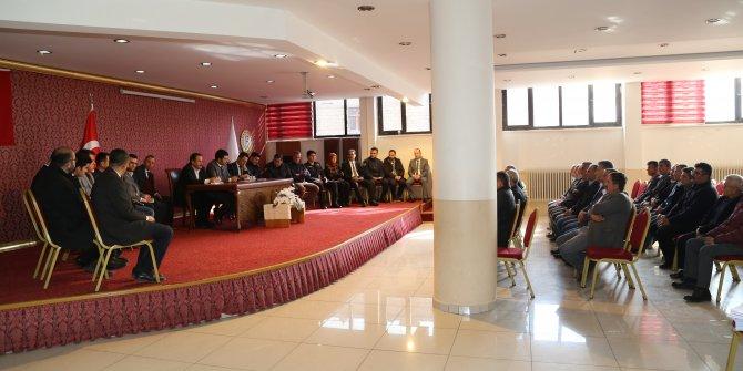 Hadim'de muhtarlar toplantısı düzenlendi