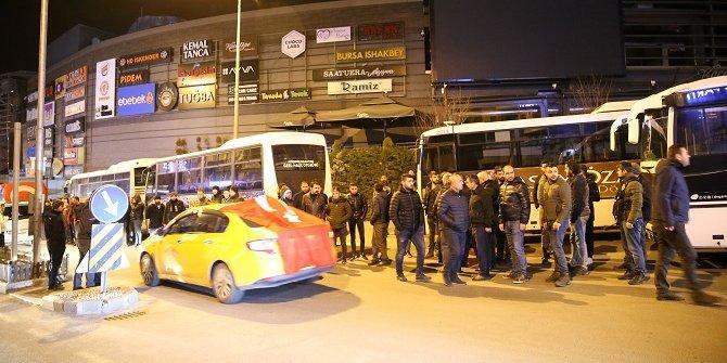Nevşehir'de vatandaşlardan Mehmetçiğe destek konvoyu