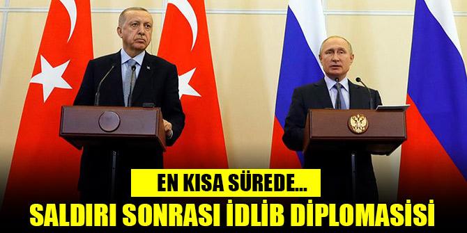 Erdoğan, Putin'le en kısa sürede yüz yüze görüşecek