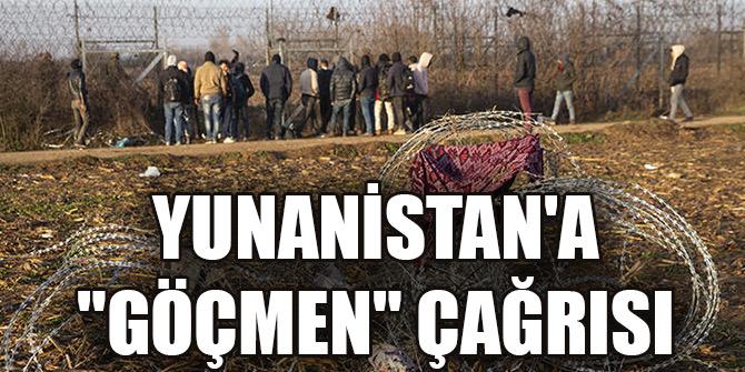 """Bakan Soylu'dan Yunanistan'a """"göçmen"""" çağrısı"""