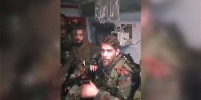 Esed rejimi askerleri ambulansları kalkan yaptı
