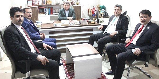 Konya SMMMO'dan Yeni Haber'e ziyaret