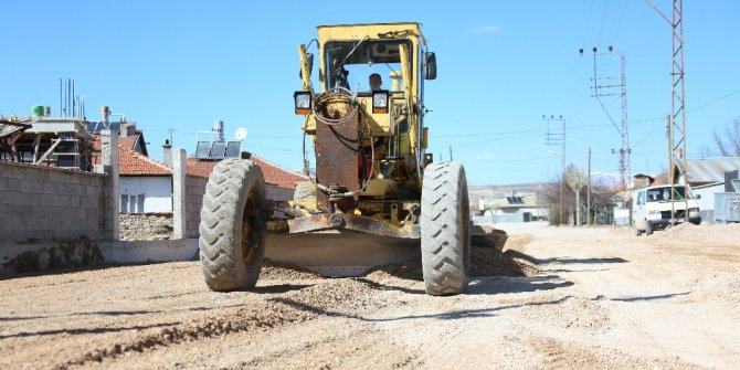 2020 yılında Meram'a 1 milyon 250 bin metrekare asfalt dökülecek