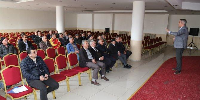 Hadim'de TARSİM bilgilendirme toplantısı