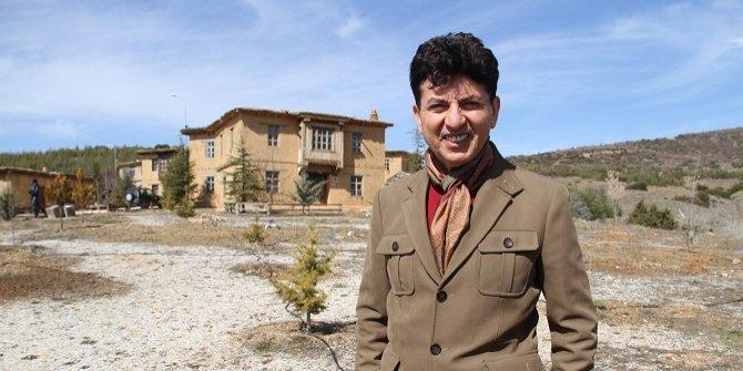 Ünlü komedyen ve tiyatro sanatçısı Fatih Mühürdar Sonsuz Şükran Köyü'nde