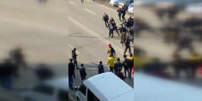 Konyaspor maçı sonrası başkanla taraftarlar arasında kavga