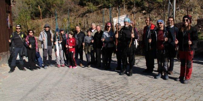 Gezen Tilki Yürüyüş Grubu Akşehir'i ziyaret etti