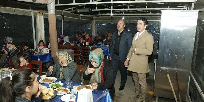 Halkapınar'da birlik ve beraberlik yemeği düzenlendi