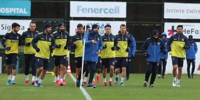 Fenerbahçe'de Kayserispor maçı hazırlıkları