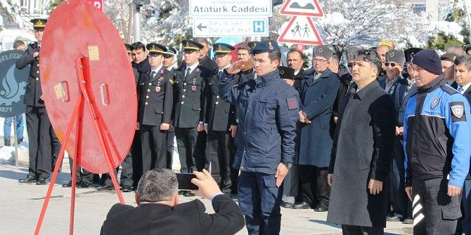 Seydişehir ilçesinde anma töreni yapıldı