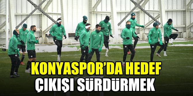 Konyaspor'da hedef çıkışı sürdürmek