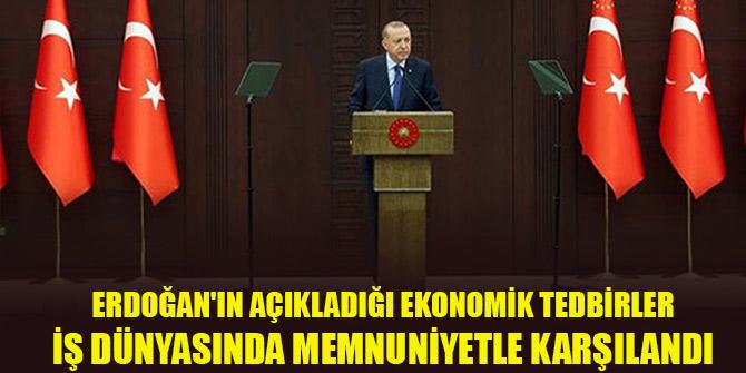 Erdoğan'ın açıkladığı ekonomik tedbirler Konya iş dünyasında memnuniyetle karşılandı