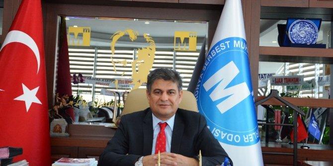 Konya SMMMO Başkanı Abdil Erdal'dan Kurban Bayramı mesajı