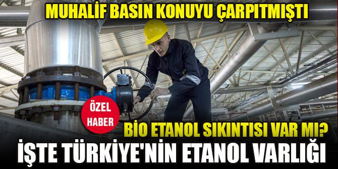 Muhalif basın çarpıtmıştı! Türkiye'nin bioetanol sıkıntısı var mı?