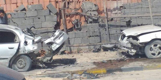 Hafter milisleri Mitiga Havalimanı'na saldırdı! 2 ölü