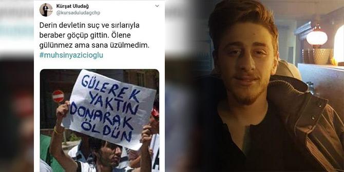Muhsin Yazıcıoğlu'na hakaret içeren paylaşımı sonrası istifa etti