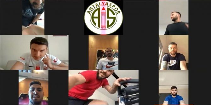 Antalyaspor'da telekonferanslı antrenman dönemi