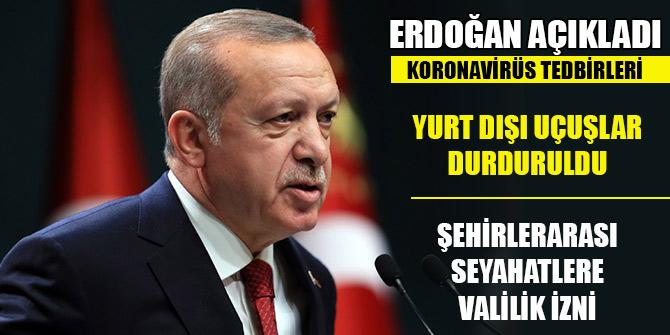 Cumhurbaşkanı Erdoğan yeni tedbir paketlerini açıkladı