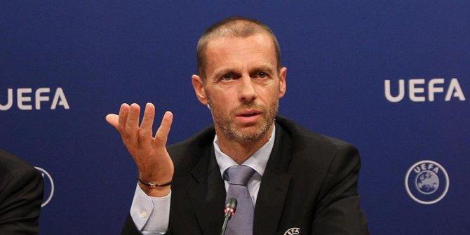 UEFA Başkanı Ceferin, futbol sezonlarının akıbetini değerlendirdi