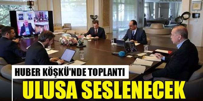 Erdoğan, Kabine toplantısının ardından ulusa sesleniş konuşması yapacak