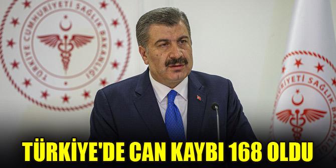 Türkiye'de can kaybı 168 oldu