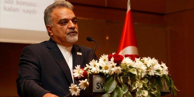 """İran Büyükelçisi Ferazmend: """"Türkiye'nin tıbbi yardımları için teşekkür ederiz"""""""