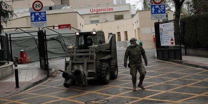 İspanya'da koronavirüsten 637 kişi daha hayatını kaybetti