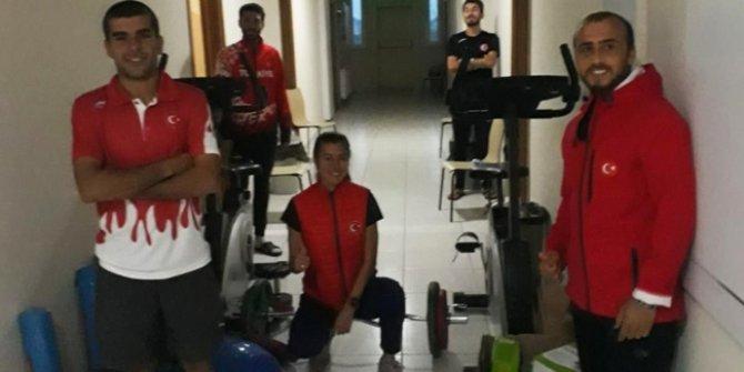 Milli atletler, çalışmalarına karantina altında devam ediyor