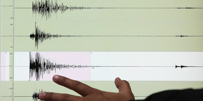 Van'da 4.7'lik deprem