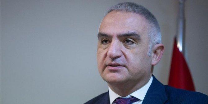 """Kültür ve Turizm Bakanı Ersoy: """"Konaklama vergisi yılbaşına ertelendi"""""""