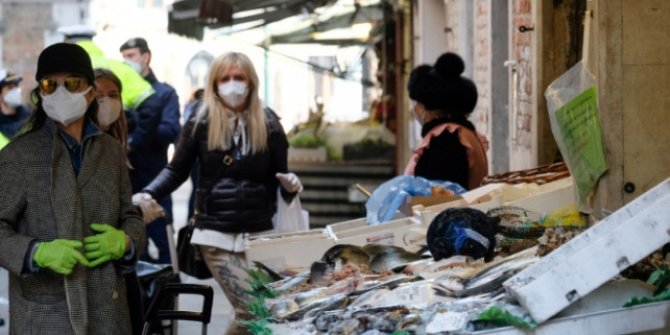 İtalya'da koronavirüsten ölenlerin sayısı 17 bin 127'ye yükseldi