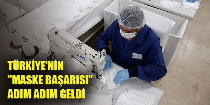 """Türkiye'nin """"maske başarısı"""" adım adım geldi"""