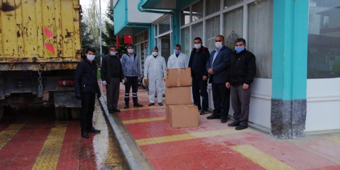 Konyasporlu taraftarlardan karantinaya alınan mahallelere yardım kampanyası