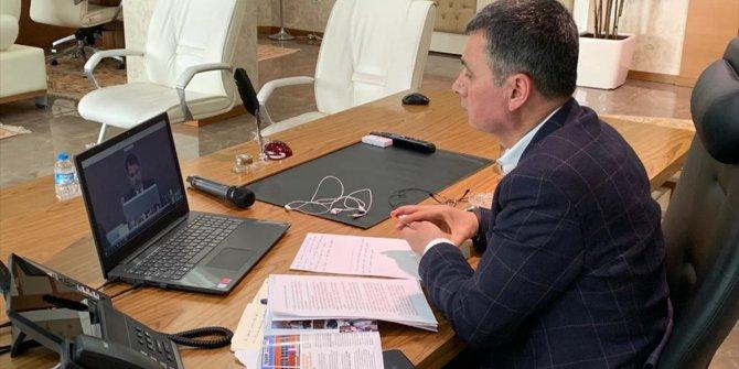 Gölbaşı Belediye Başkanı Şimşek, Bakan Murat Kurum ile telekonferansla görüştü