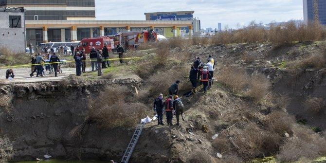 Başkentte su dolu inşaat çukuruna düşen çocuk hayatını kaybetti