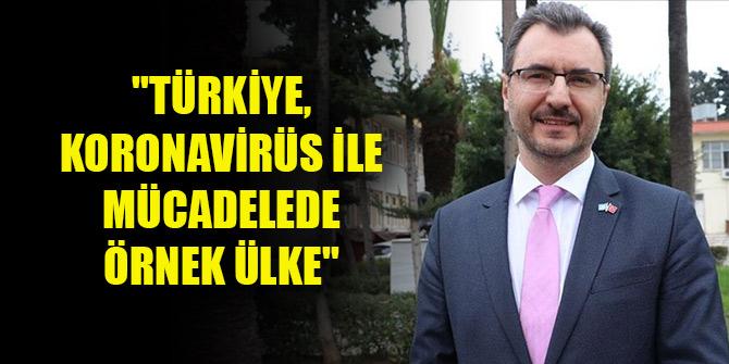 """Sağlık örgütü Temsilcisi: """"Türkiye, koronavirüs ile mücadelede örnek ülke"""""""