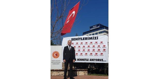 Türkiye Gaziler ve Şehit Aileleri Vakfı şehitleri andı