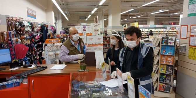 Yunusemre'de marketlere denetleme