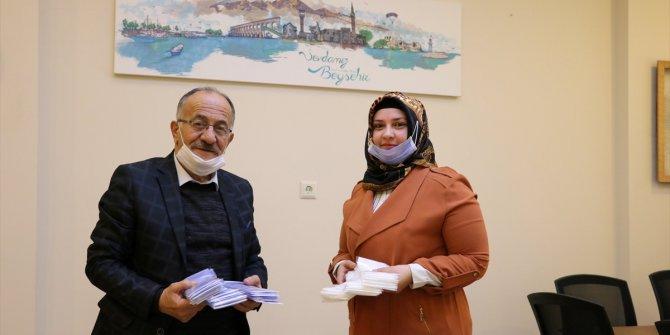 KOMEK'ten Beyşehir Belediyesine koruyucu maske desteği