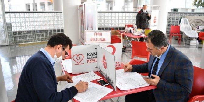Malatya Büyükşehir Belediyesinden kan kampanyasına destek