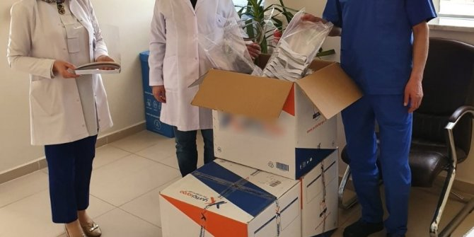 Gölbaşı Devlet Hastanesine siperlik bağışı