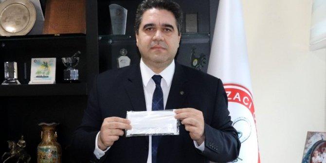 """Eczacılar Odası Başkanı Yalbuzdağ: """"Ücretsiz verilecek maskelerin ilk partisi Adana'ya geldi"""""""