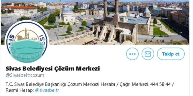 Sivas Belediyesi logosuna maske taktı