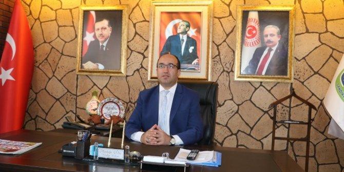"""Başkan Mustafa Çöl """"Biz Bize Yeteriz Türkiye'm"""" kampanyasına maaşını bağışladı"""