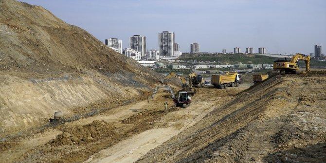 İkitelli Şehir Hastanesi yolunun yapımında sona gelindi