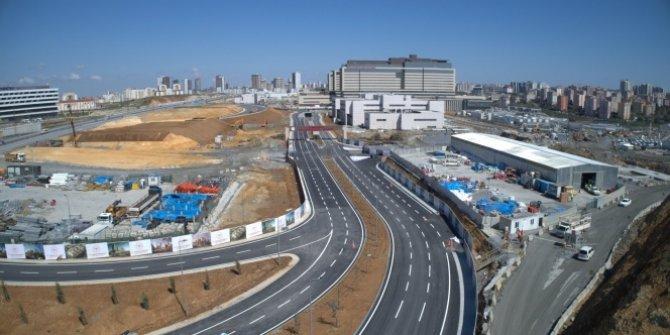 Başakşehir Şehir Hastanesi'nin açılışa 3 gün kala yolları ortaya çıktı