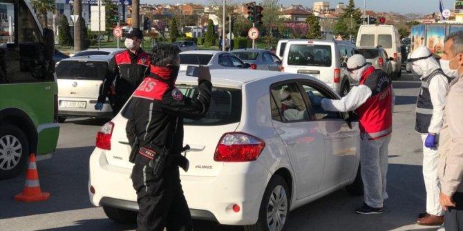 Polisten sürücülere sıkı denetim
